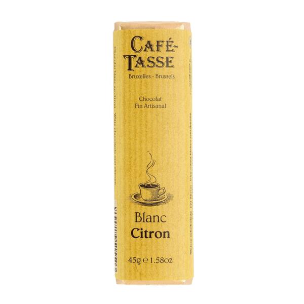 Café-Tasse белгийски шоколад-бял с лимон